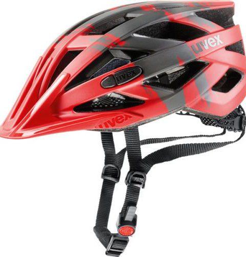 Casco Uvex I-VO CC Rojo Negro Talla M