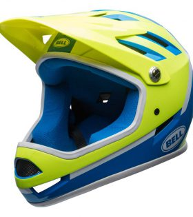 CASCO BELL SANCTION AZUL/FLUOR L