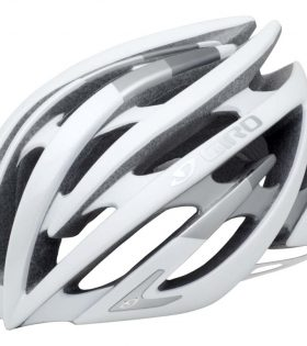 Casco Giro Aeon blanco mate plata