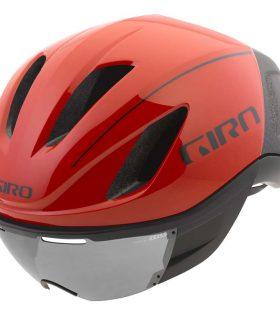 casco giro vanquish roojo negro