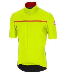 maillot castelli gabba 3 amarillo fluor