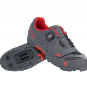 ZAPATILLA MTB COMP BOA Color Matt Dark Grey/red