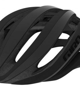 casco giro aether negro reflectante