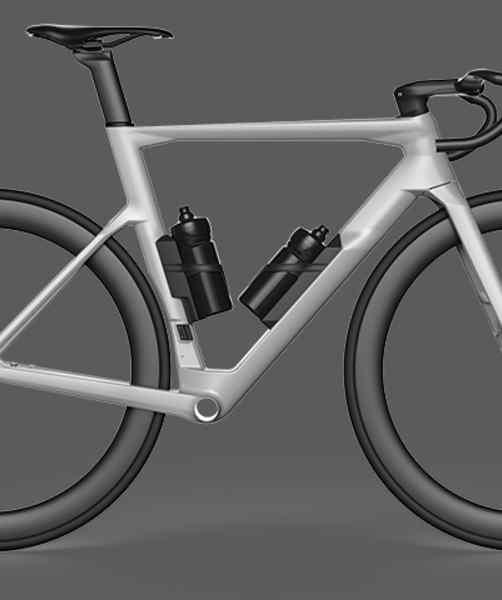 2.Bidones sin Aero Box (conforme a la UCI)