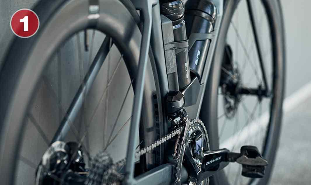 Rapidez y flexión La tecnología TCC Speed minimiza las vibraciones de la carretera, mejorando la velocidad de rodadura y la transferencia de potencia