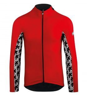 MAILLOT ASSOS DE MANGA LARGA MILLE GT SPRING FALL LS JERSEY NATIONAL RED