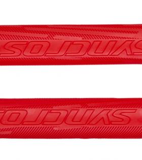 Puños SYNCROS PRO Para MTB Color Rojo