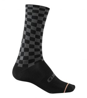 Calcetines Giro Comp Racer High Rise gris negro