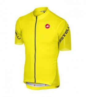 maillot castelli entrata 3 amarillo fluor