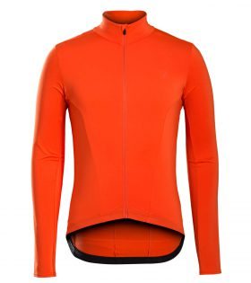 Maillot de invierno Bontrager Velocis Thermal LS X-Large Orange