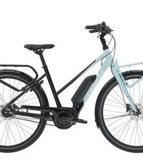 Bicicleta eléctrica de ciudad Trek UM2+ Stagger 300wh 2019 color Nimbus Blue