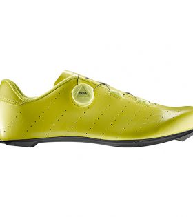 Zapatillas Carretera Mavic Cosmic BOA Color Amarillo Flúor