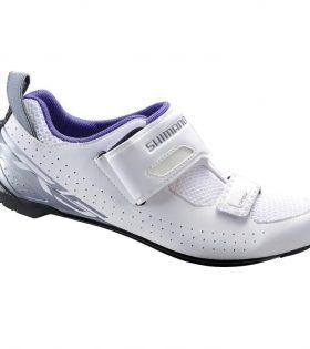 Zapatillas Shimano TR5 para triatlón blanco talla 36