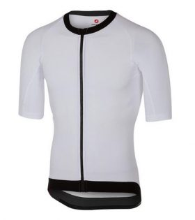 Maillot Castelli T1 Stealth Top 2 Blanco