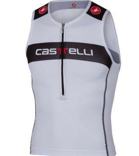 Maillot Castelli Top triatlón Castelli Core Tri Top blanco talla L