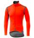 Chaqueta Castelli Perfetto Gore-Tex Infinium Rosso Corsa Color naranja flúor