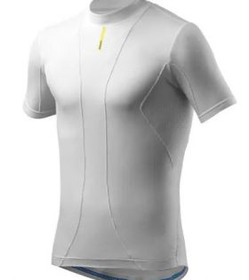 Camiseta interior Mavic Cold Ride manga corta blanco talla M/L