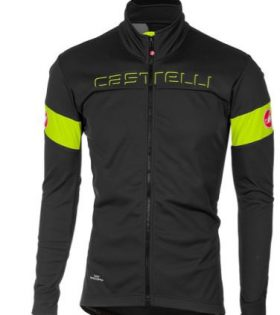 Chaqueta Castelli Transition Windstopper color Rojo Talla L