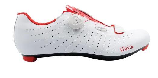 Zapatillas Fizik Tempo R5 Overcurve 2020 blanco rojo