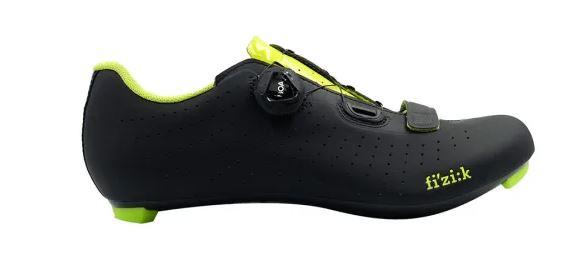 Zapatillas Fizik Tempo R5 Overcurve 2020 negro amarillo flúor