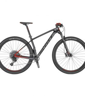 Bicicleta Scott Scale 940 Color negro rojo 2020