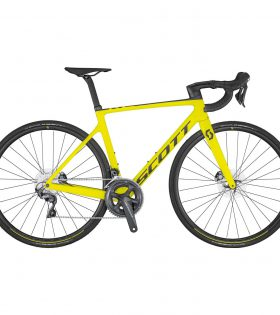 BICICLETA SCOTT ADDICT RC 30 YELLOW 2020