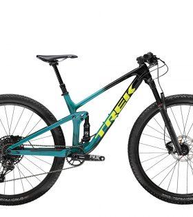 Bicicleta Montaña Top Fuel 9.7 Color Trek Black to Teal Fade