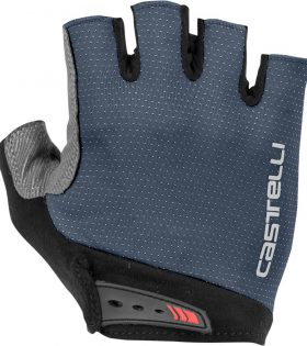 GUANTES CASTELLI CORTOS ENTRATA COLOR DARK STEEL BLUE