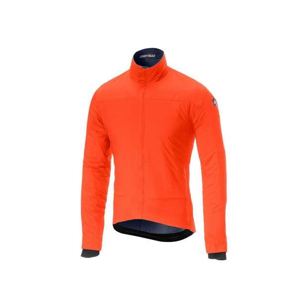 chaqueta castelli elemento light naranja