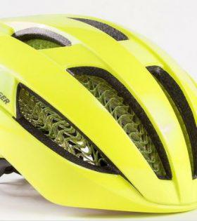 Casco de bicicleta Bontrager Specter WaveCel color Amarillo Flúor