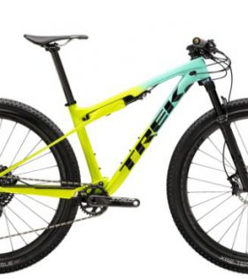 Bicicleta Trek Supercaliber 9.8 Color Miami Green to Volt Fade