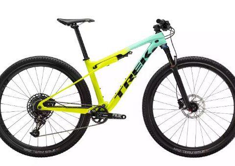 Bicicleta Trek Supercaliber 9.7 Miami Green to Volt Fade