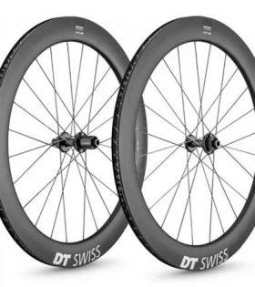 Juego de ruedas DT Swiss ARC 1400 Dicut 62 para Tubeless