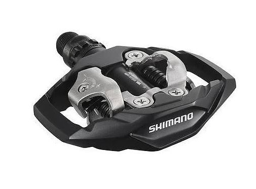 Pedales Shimano M530 SPD negro para MTB