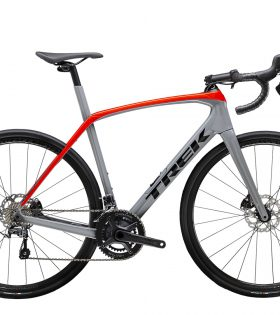 Bicicleta Trek Domane SL 4 Slate/Radioactive Red