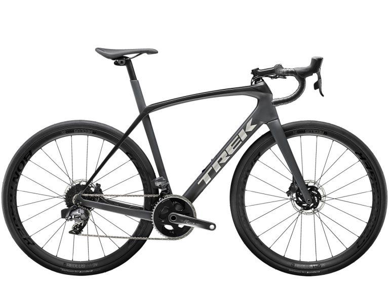 Bicicleta Trek Domane SL 7 E-TAP Color Matte Charcoal/Trek Black