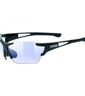 Gafas Uvex Sportstyle 803 Race Variomatic negro con lentes fotocromáticas