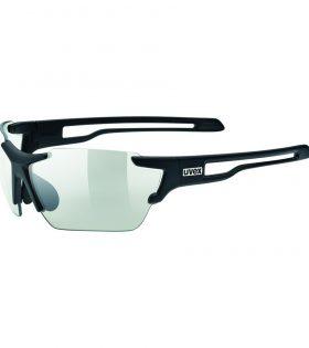 Gafas Uvex Sportstyle 803 Variomatic negro con lentes fotocromáticas
