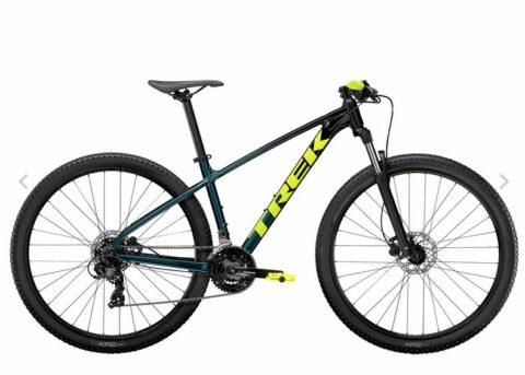 Bicicleta Trek Marlin 5 2021 Talla L color Dark Aquatic/Trek Black